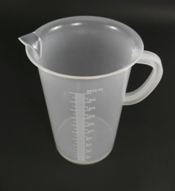 Measuring Jug - Plastic, 2000ml
