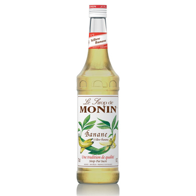 Monin Syrup - 70cl Banana (yellow)