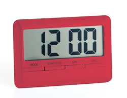 Magnetic Digital Kitchen Timer (Count Up/Down) - Red