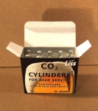 CO2 16g Non-Threaded Cartridges - Case of 300