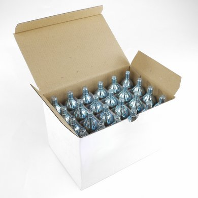 CO2 25g Threaded Cartridge - Box of 24