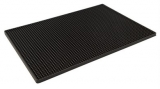 Beaumont - Bar Mat - Black Rubber (450 x 300mm)