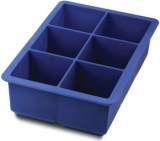 Tovolo - King Cube Tray - Very Large Ice Cubes! (Blue)