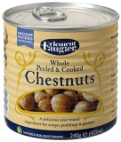 Clement Faugier - Whole Peeled Chestnuts 240g