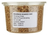 Eden - Bourbon Soaked Oak Smoking Chips (500ml / Approx 160g)