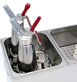 8L Bath Tray (Holds 4 Whippers)