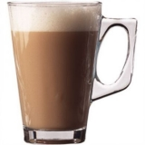 Conic Glass Latte Mug 250ml (8.66oz)