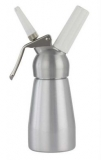Mosa - Cream Whipper 1/4L (Silver with Metal Head)