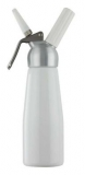Mosa - Cream Whipper 1/2L (White with Metal Head)