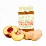 Eswatini Swazi Kitchen - Fairtrade Peach & Ginger Jam (340g)