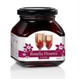 Rosella (Wild Hibiscus) 11 Flowers in Syrup - 250g