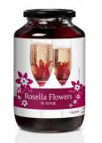 Rosella (Wild Hibiscus) 40 Flowers in Syrup (750g)