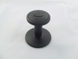 mypressi� TWIST� - 53mm Plastic Tamper (Black)