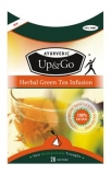 InnOrbit - Up & Go Herbal Green Tea Infusion (28 bags)