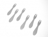 Chip Fork - Brushed stainless steel