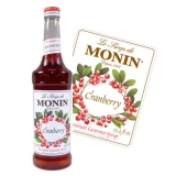 Monin Syrup - 70cl Cranberry