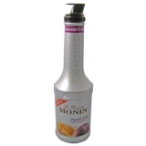 Monin Fruit Puree - 1 Ltr Passion Fruit