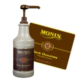 Monin Sauce - 1.89L Dark Chocolate (Pump not included)