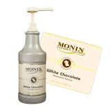 Monin Sauce - 1.89L White Chocolate (Pump not included)