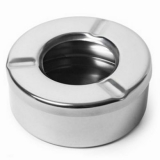 Beaumont - Windproof Ashtray (Stainless Steel)