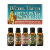 The Bitter Truth - Bitters Traveler�s Tin (5x20ml - 38.2% ABV)