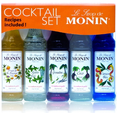 Monin - Cocktail Gift Set (5 x 50ml) (BBD 10/14)