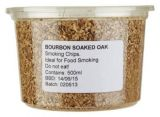 Eden - Bourbon Soaked Oak Smoking Wood Chips (500ml / Approx 160g)
