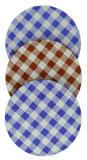 Tala - Set of 3 Gingham Jam Lids