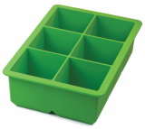 Tovolo - King Cube Tray - Very Large Ice Cubes! (Green)