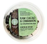 Raw Dehydrated Kale Chips - Cacao & Cinnamon 40g