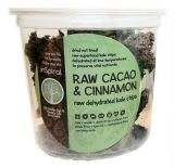 Raw Dehydrated Kale Chips - Cacao & Cinnamon 90g