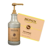 Monin Sauce - 1.89L Caramel (Pump not included)