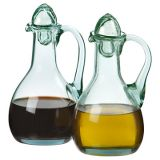 Oil & Vinegar Set - Fairtrade Recycled Glass