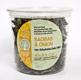 Raw Dehydrated Kale Chips - Baobab & Onion 80g