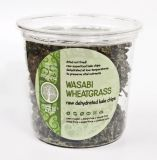 Raw Dehydrated Kale Chips - Wasabi Wheatgrass 80g