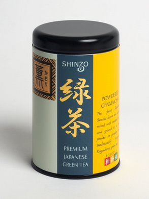 Shinzo Powdered Genmaicha Tea (50g)