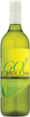 GO! Kombucha - Green Sencha Tea (750ml)