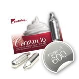 Best Whip Cream Chargers - 600 (60 x Packs of 10s) Free UK Delivery*