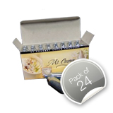Mr Creamy / Mosa Cream Chargers (8g N2O) - Pack of 24 (White Box)