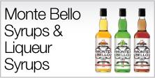 Monte Bello Syrups & Liqueur Syrups