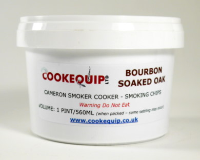 Bourbon Soaked Oak Smoking Chips (560ml)