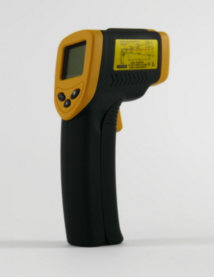 Infrared Thermometer with Laser - Up to 380C
