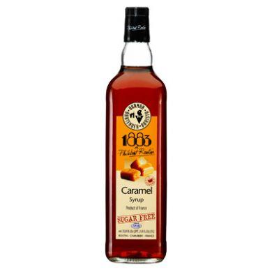 Routin 1883 Syrup - 1L Caramel (Sugar Free)