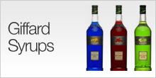 Giffard Syrups