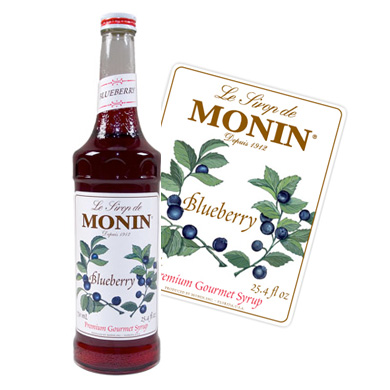 Monin Syrup - 70cl Blueberry