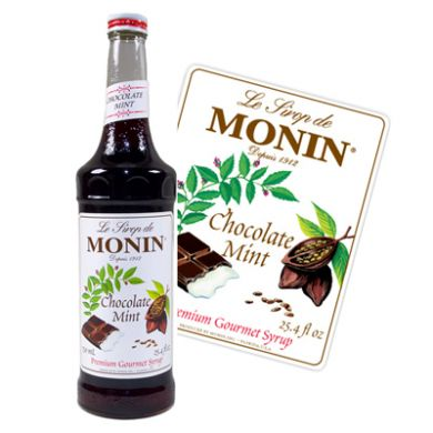 Monin Syrup - 70cl Chocolate Mint