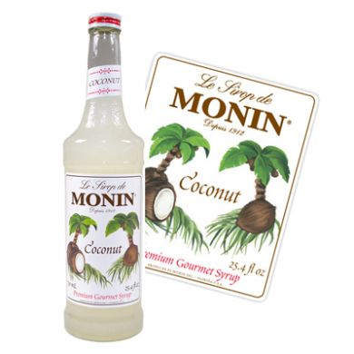 Monin Syrup - 70cl Coconut
