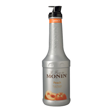 Monin Fruit Puree - 1 Ltr Peach
