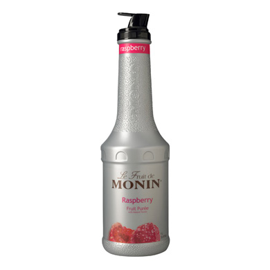 Monin Fruit Puree - 1 Ltr Raspberry