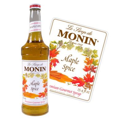 Monin Syrup - 70cl Maple Spice